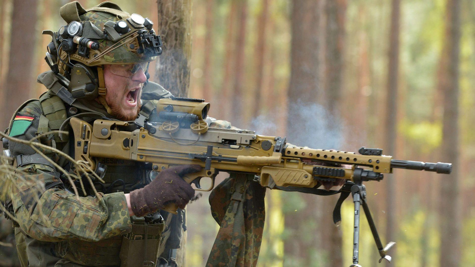 Heckler & Koch mit der Lieferung von MG5 für die Bundeswehr beauftragt